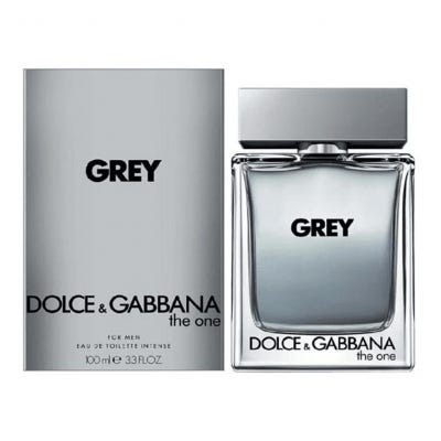 Grey The One By Dolce and Gabbana Eau De Toilette Intense For Men x 100 ml