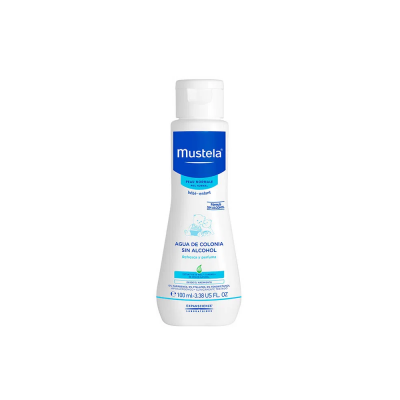 Agua De Colonia Mustela Refresca y Perfuma Sin Alcohol Piel Normal Eau De Toilette x 100 ml