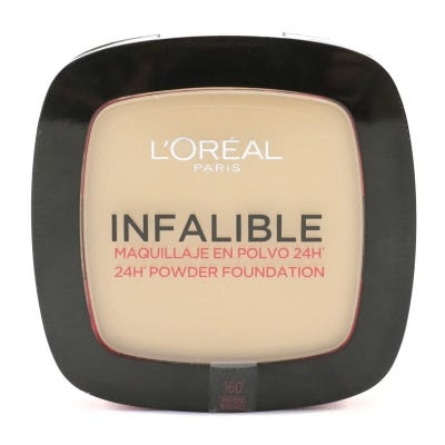 Polvo Compacto L'Oreal Infalible 24 Horas Nº 160 Sand Beige x 9 g