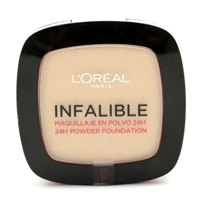 Polvo Compacto L'Oreal Infalible 24 Horas Nº 225 Beige x 9 g
