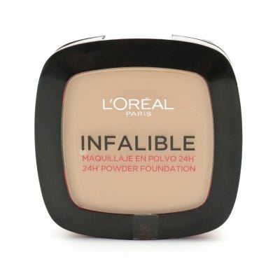 Polvo Compacto L'Oreal Infalible 24 Horas Nº 245 Warm Sand x 9 g