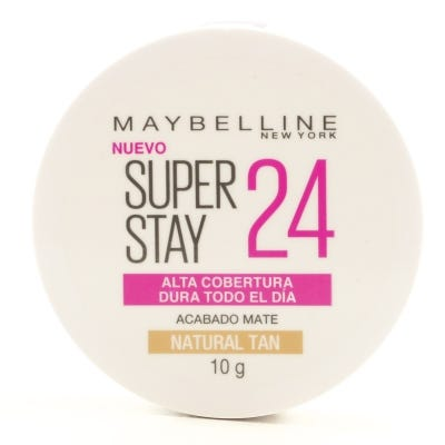 Polvo Compacto Maybelline Super Stay 24 Horas Acabado Mate Natural Tan x 10 g
