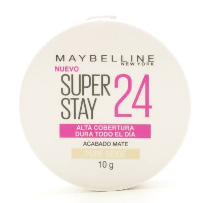 Polvo Compacto Maybelline Super Stay 24 Horas Acabado Mate Pure Beige x 10 g