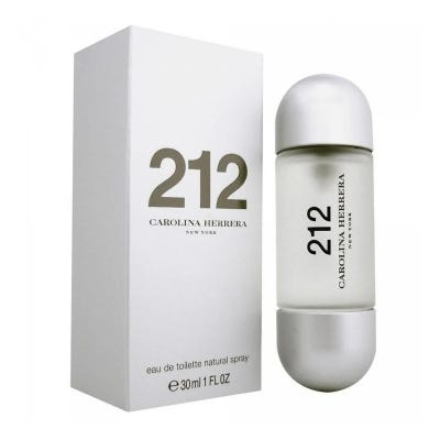 212 NYC By Carolina Herrera Eau De Toilette Fem x 30 ml